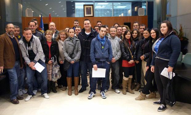 Recepción plan empleo local 12 enero Ayto Massamagrell