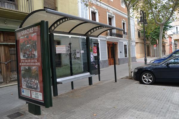 accesibilidad parada autobuses