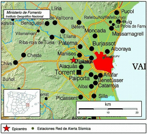 terremoto 2 de enero en aldaia