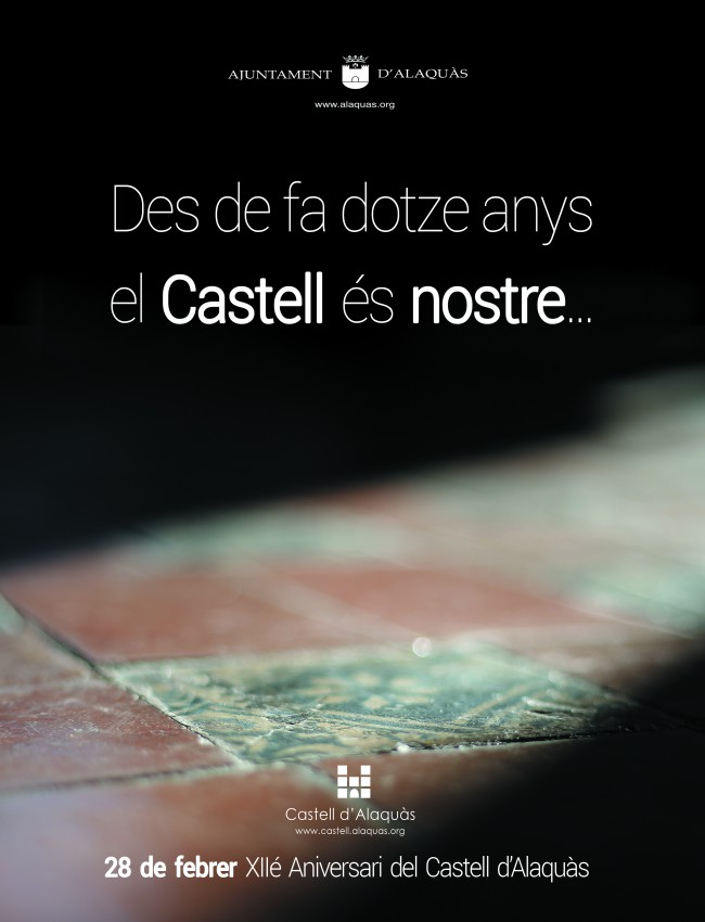 12é aniversari Castell Alaquàs