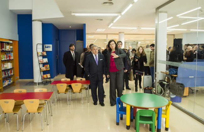 Almassera. Inauguración ampliación biblioteca