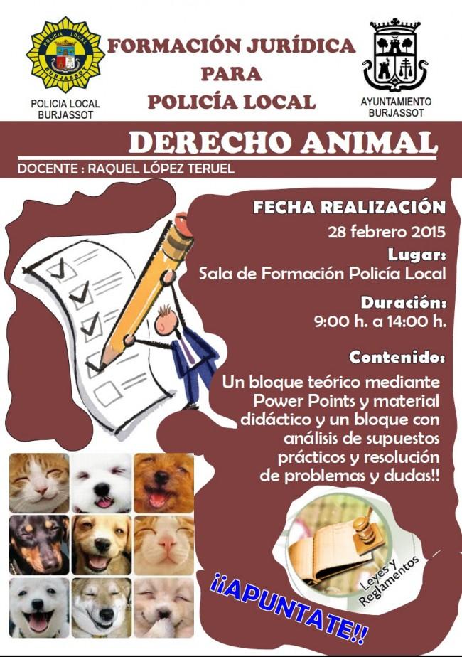Curso Legislación Animales PLB Febrero 2015