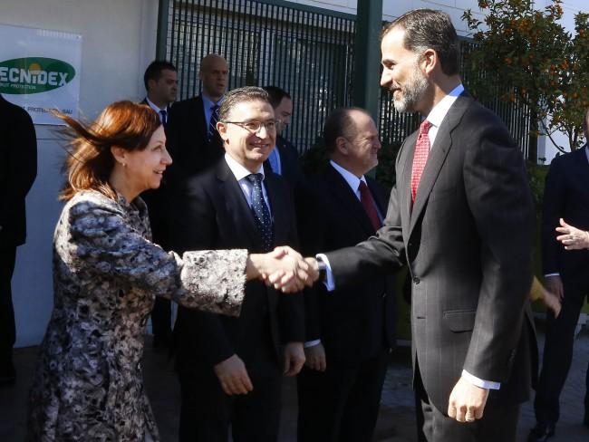 FelipeVI-alcaldesa-Paterna-visita-oficial