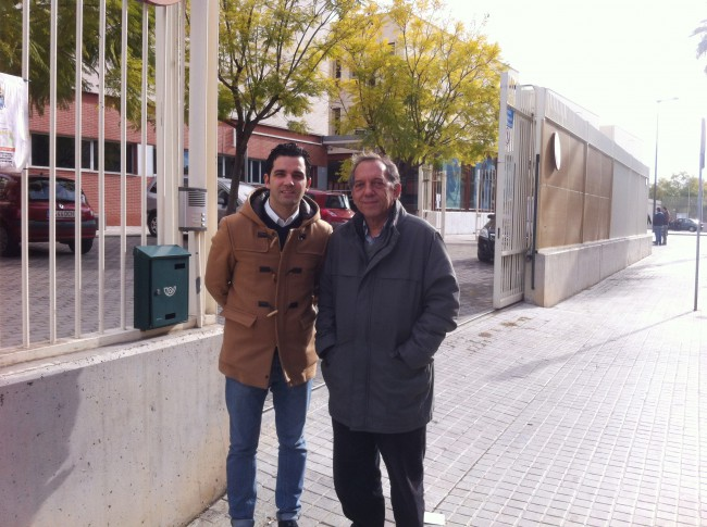 J.A. Sagredo y Miguel Soler