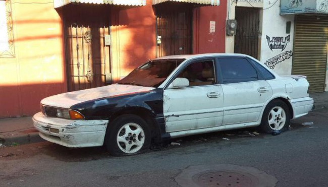 coche abandonado paiporta