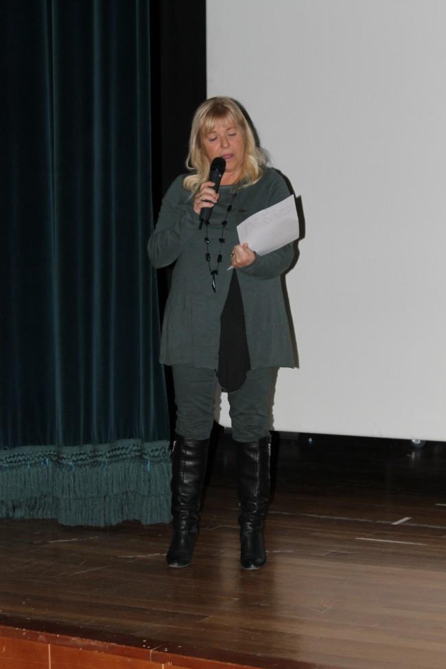 Concepción Bernat. Concejala de Acción Social · Presentación acto