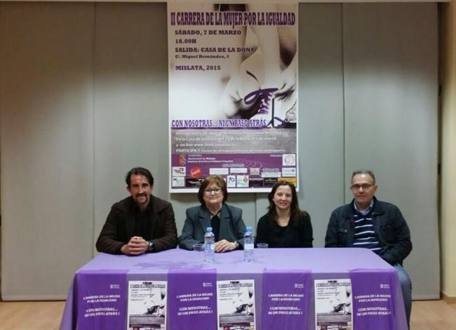 Mislata. Presentación II Carrera de la Mujer por la Igualdad