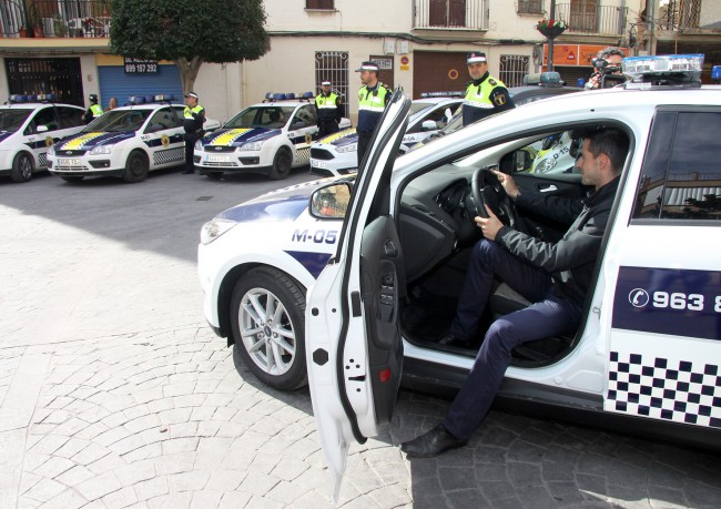 Presentación flota de vehículos Policía Local-4