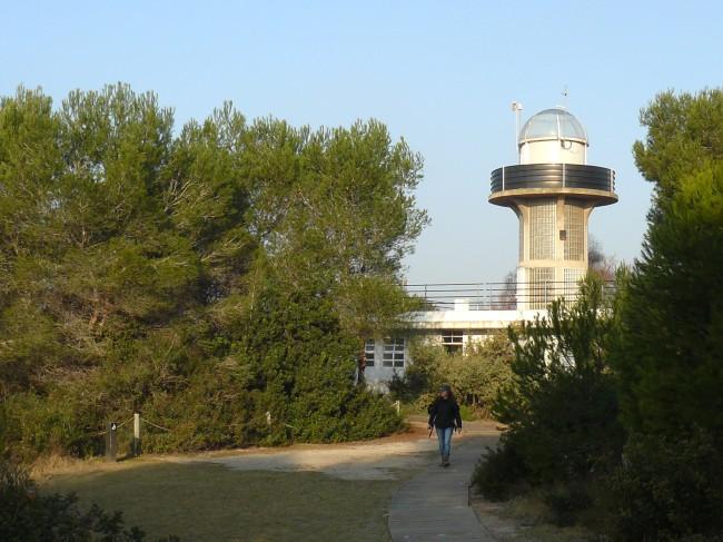 Torre mirador del centro de interpretación del Racó de l'Olla,  gstionado por la Conselleria y el Ayuntamiento de Valencia,  permanece cerrada desde hace un año