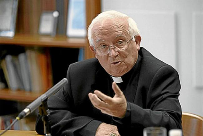 arzobispo de Valencia Antonio Cañízares