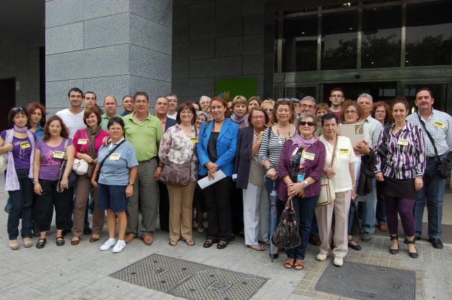 movilización contra subestación en Benetússer