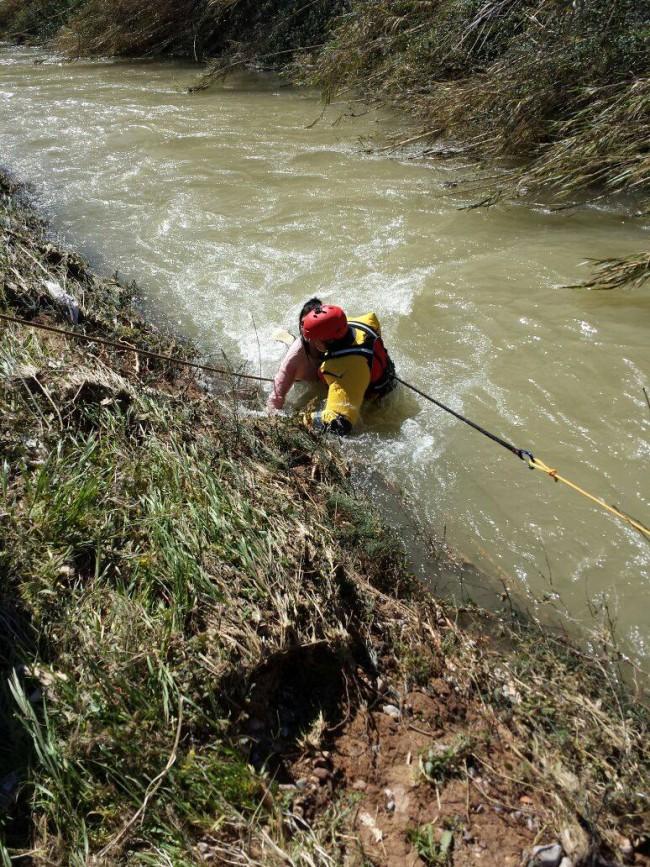 rescate rio turia