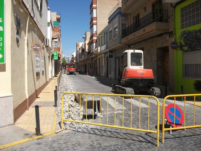 Asfaltado calle Catarroja