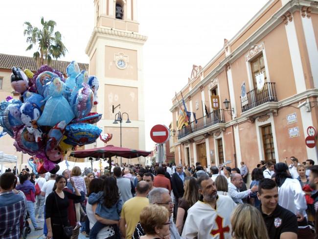Catarroja-Moros-Cristianos-Mig-Any-mercado-medieval