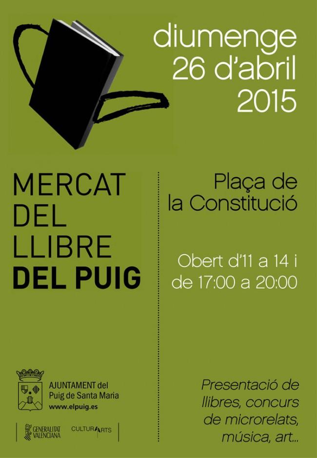 El Puig. Mercat del Llibre 2015