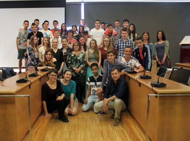 Grup d estudiants alemanys a Picassent