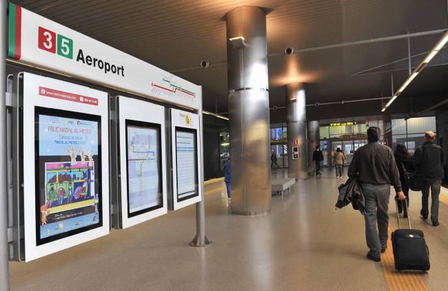 MetroValencia. Aeropuerto. estación FGV