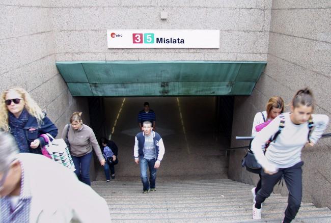 MetroValencia. Estaciones de Metro de Mislata