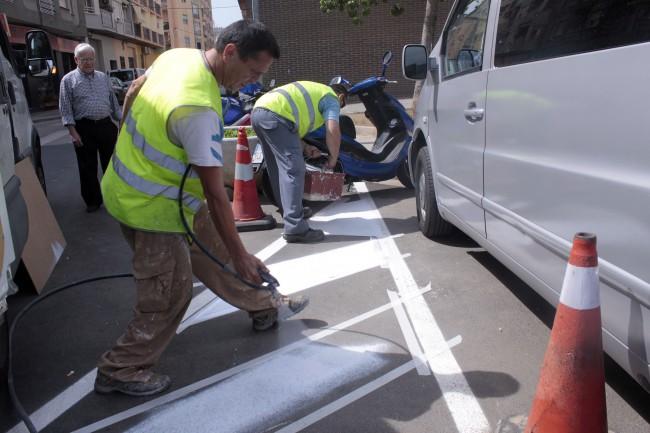 Millora senyalitzacio viaria Plaça Europa 2