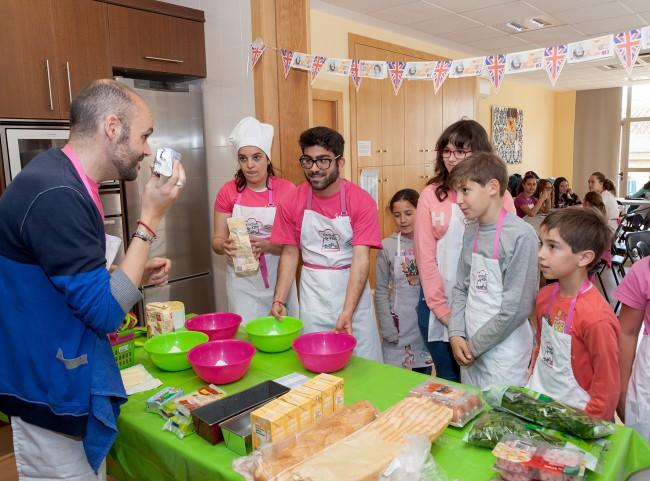 Mislata. Taller de cocina en inglés para niños