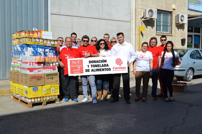 donación grupo socialista manises xarxa solidària