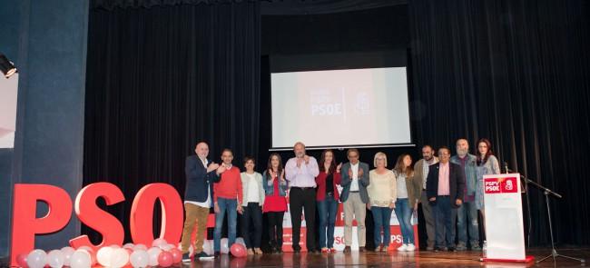 presentacion candidatura PSOE Museros 2015