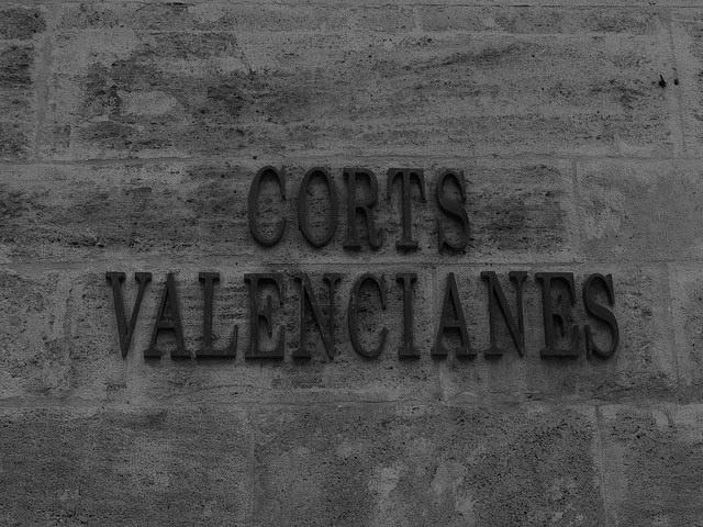 Cortes Valencianes. fachada