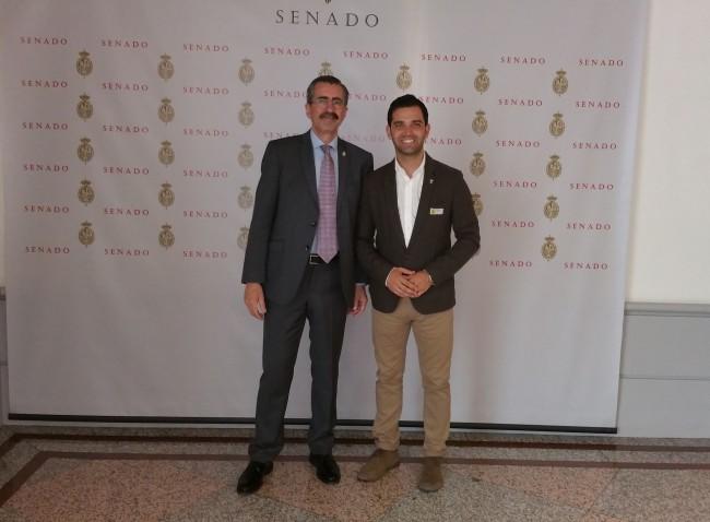 Senado J.A.Sagredo y Jose Mª Ángel