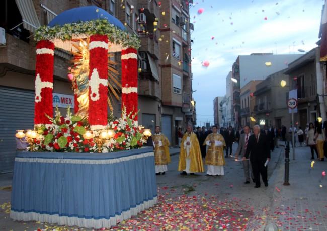 fiestas virgen del rosario de torrent