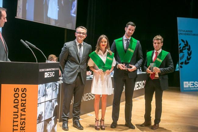 ESIC Valencia. Premio Extraordinario Fin de Carrera