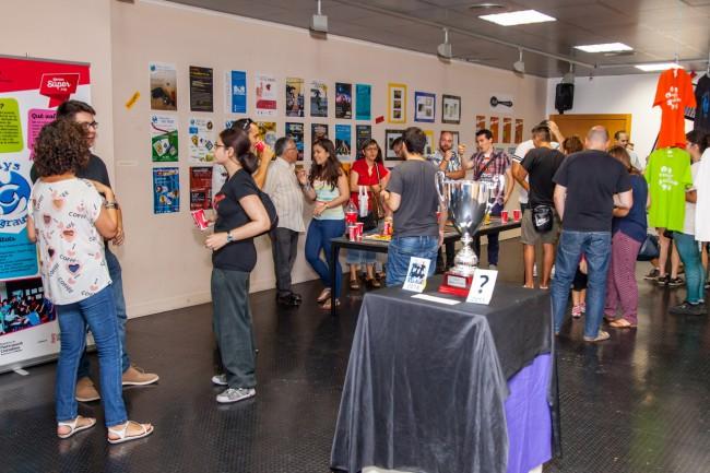 Exposición aniversario Menys Graus-4
