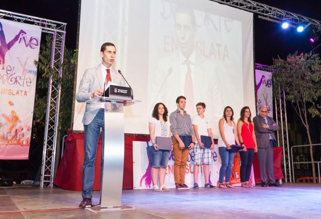Gala del deporte 2015 - Discurso alcalde
