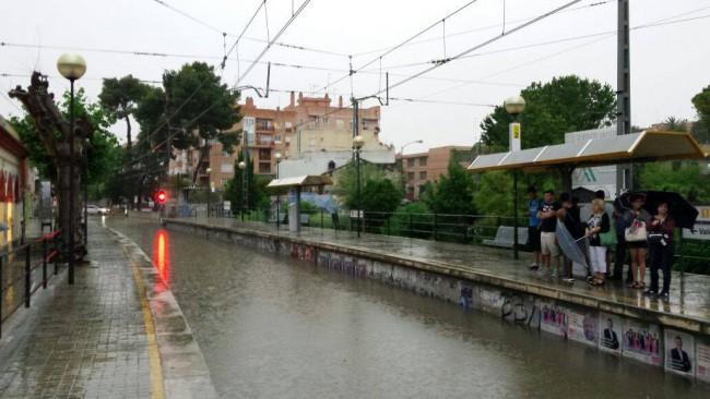 Godella-lluvias-torrenciales-metro