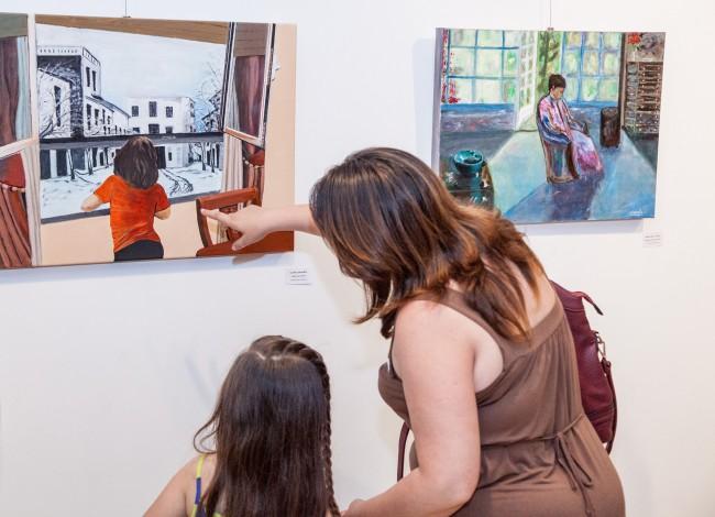 Inauguración exposición talleres artes plásticas-6