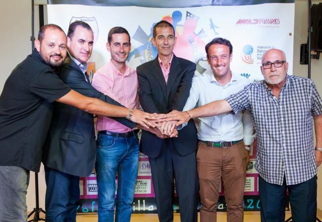 Mislata. Presentación Trofeo de Balonmano Villa de Mislata