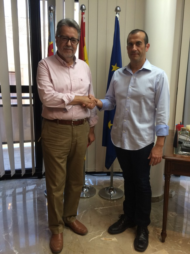 Ramón Marí y david Ramón acuerdan gobierno de Albal