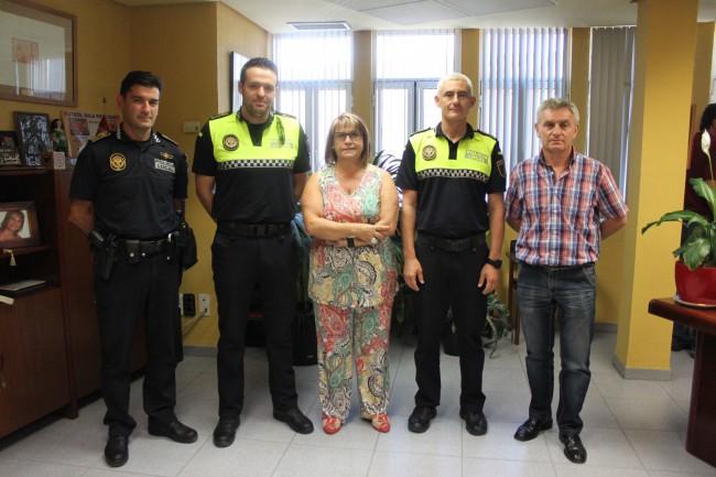 nuevos agentes policía local picassent
