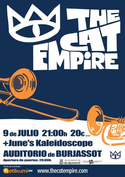 Cartel The Cat Empire 9-07-2015
