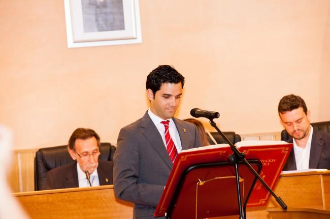 Investidura alcalde J.A. Sagredo