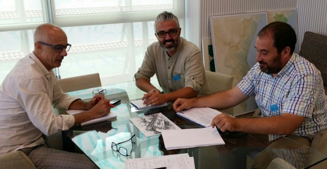 Juanma Ramón i Carles Martí amb Julià Álvaro_14juliol2015