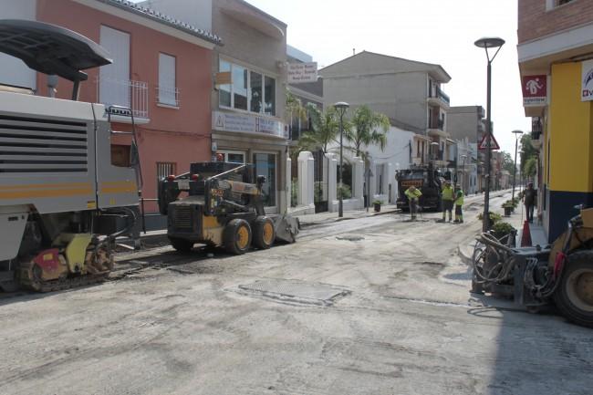 L Ajuntament de Picassent reasfalta carrers i camins del terme 2