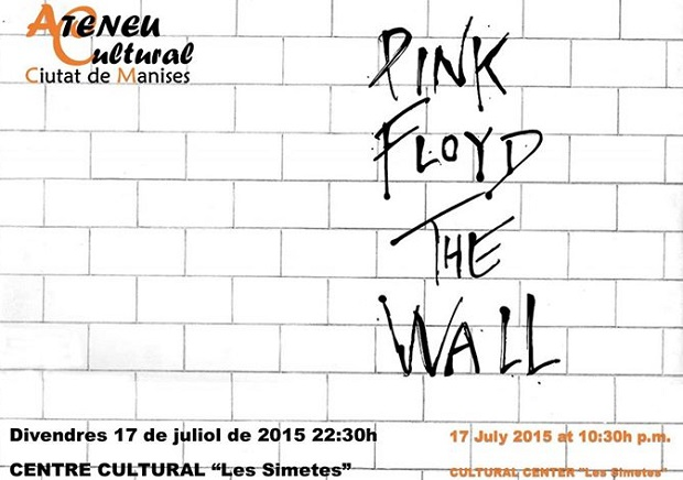 Manises. Pink Floyd The Wall