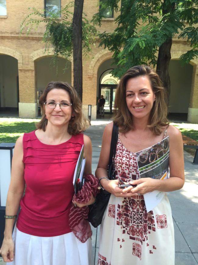 Núria Campos y Elena Cebrián