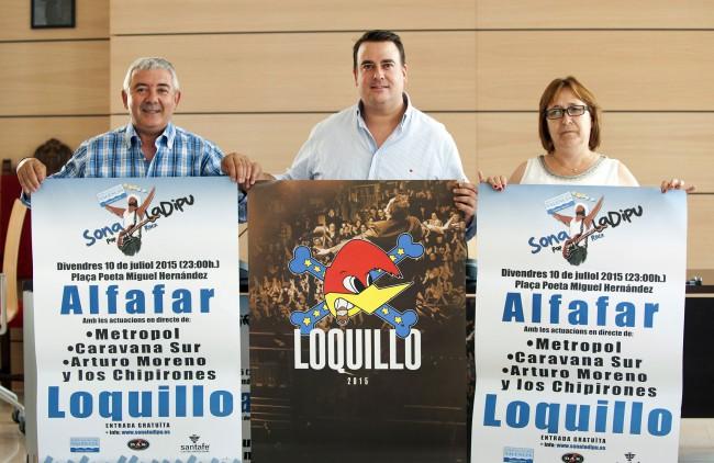 Presentación Concierto Pop Rock en Alfafar