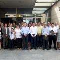 Reunión con alcaldes en Bonrepòs i Mirambell. Foto grupo