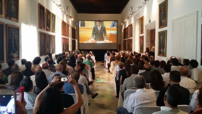 Toma posesión nueva corporación Diputación de Valencia invitados