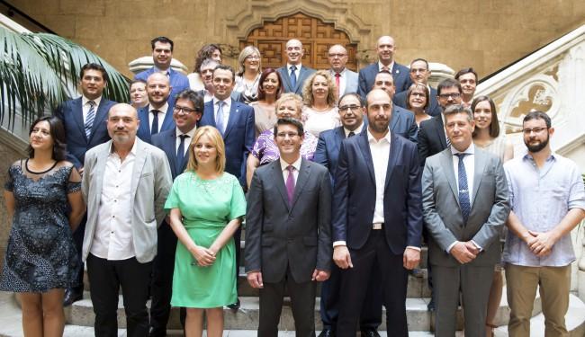 Toma posesión nueva corporación Diputación de Valencia. Diputados