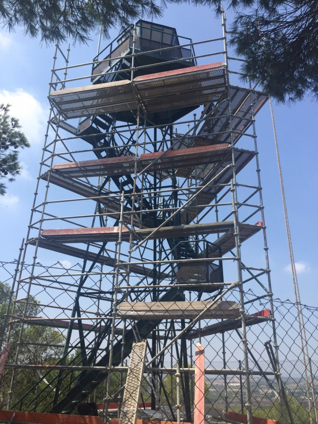 Torre_Vigilancia_Vallesa_con_andamio_Julio_2015