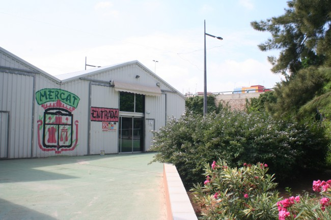 jardineras mercado municipal
