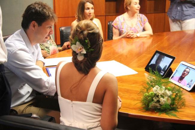 matrimonio a distancia en Torrent gracias a las nuevas tecnologías (1)